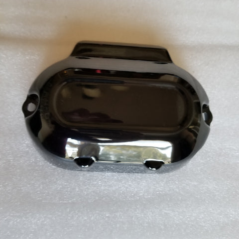 Side Transmission Cover Gloss Black (2017 and up Milwaukee 8 Touring Models)