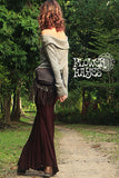 Gypsy Mermaid Long Skirt(4colors)