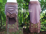Gypsy Adjustable Lace Skirt (4colors)