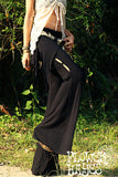 Attached Skirt Flare Pants(3colors)