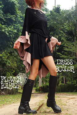 Kimono Sleeve Dress (3colors)