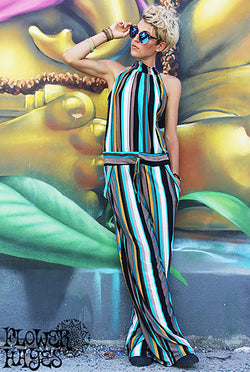 Stripes Jumpsuit (2colors)