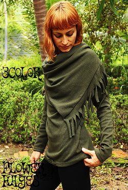 Fringe stall design tops (3colors)