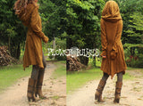 Big Hoodie Soft Knit Pixie Long Cardigan (3colors)
