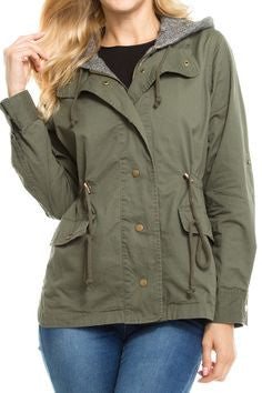 Field Jacket with Hood