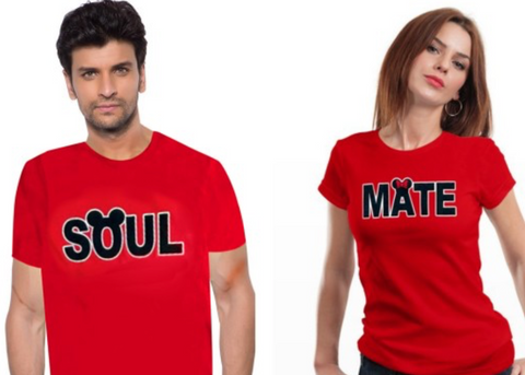 SOUL out of SOUL MATE T Shirt Set