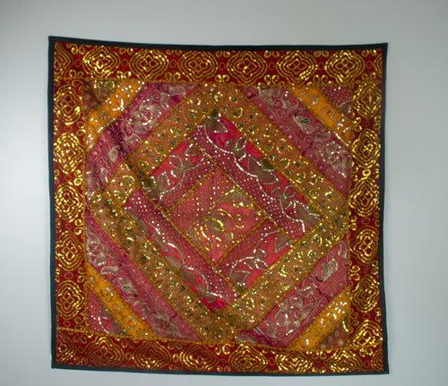 AariTari Embroidery, Wall Hanging 19th century Rajasthan , India