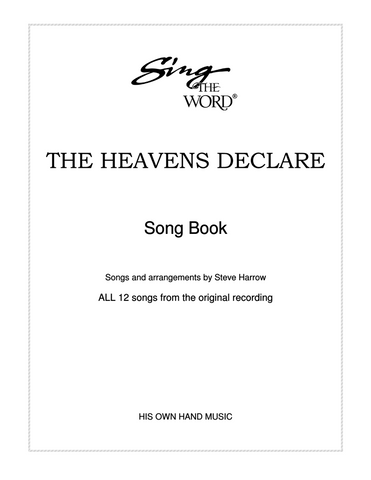 The Heavens Declare Sheet Music Downloads