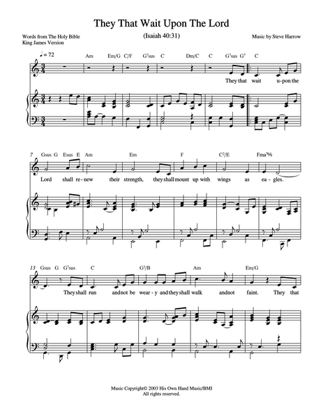 God Our Provider Sheet Music Downloads