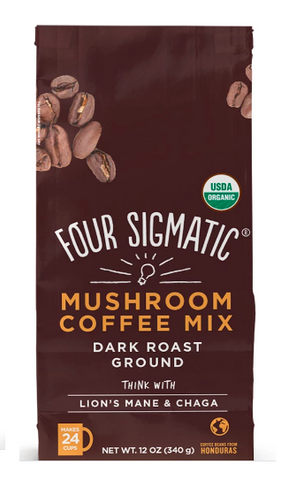 Four Sigmatic Ground Mushroom Coffee with Lion's Mane - Nootropics - Nootropics Kopen.