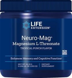 Life Extension Neuro-Mag Magnesium L-Threonate - Powder - Nootropics - Nootropics Kopen.