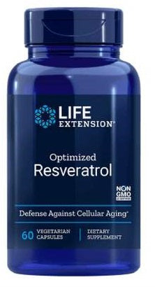 Life Extension Optimized Resveratrol - 250mg - 60 caps - Nootropics Kopen.