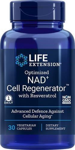 Life Extension NAD+ 300mg met Resveratrol - Optimized Cell Regenerator - Nootropics - Nootropics Kopen.