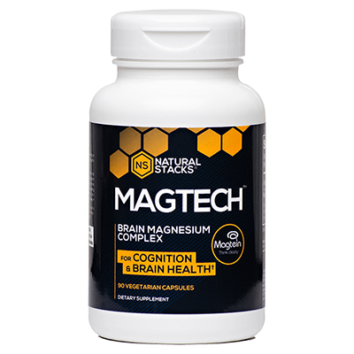 Natural Stacks - MagTech™ Magnesium Supplement - 90 Caps - Nootropics Kopen.