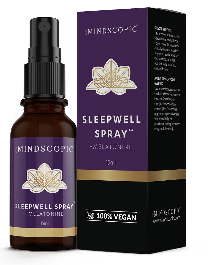 MINDSCOPIC® SLEEPWELL SPRAY™ - Nachtrust - Nootropics Kopen.