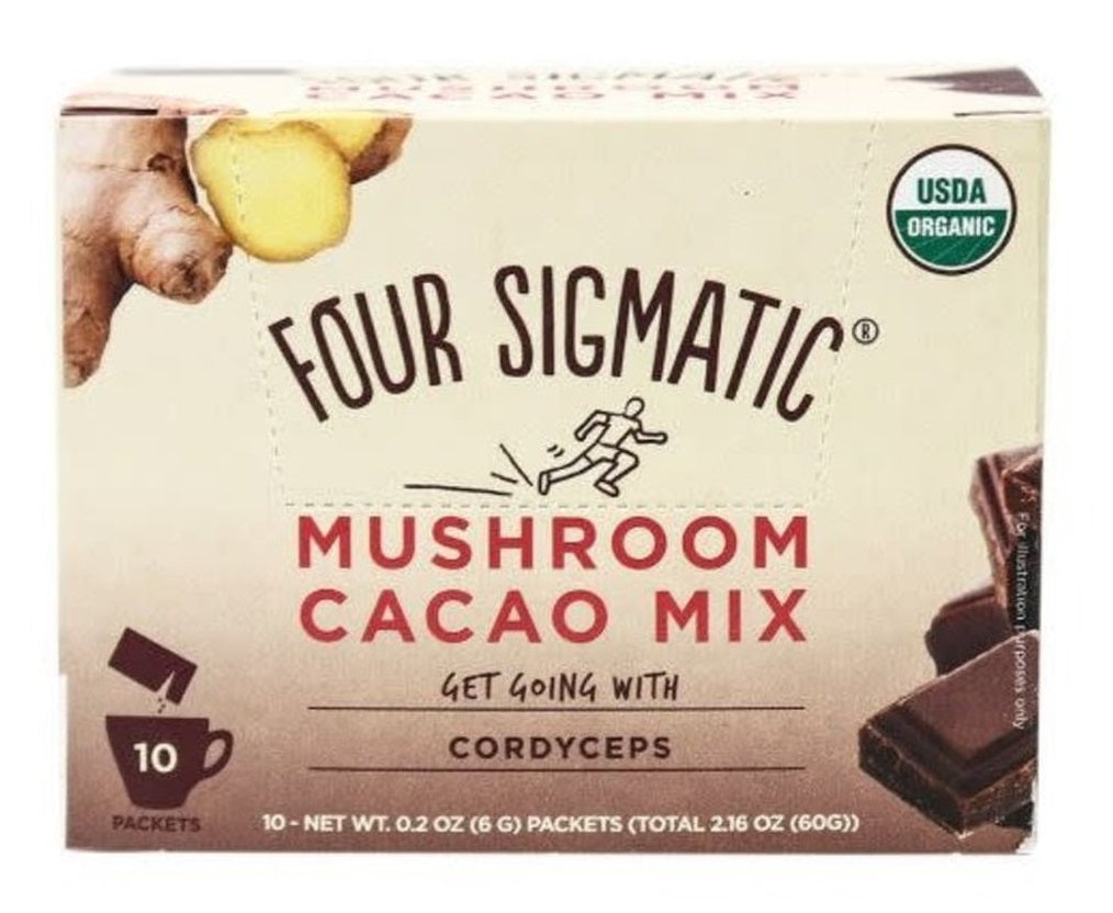 Four Sigmatic Mushroom Hot Cacao met Cordyceps - Nootropics - Nootropics Shop