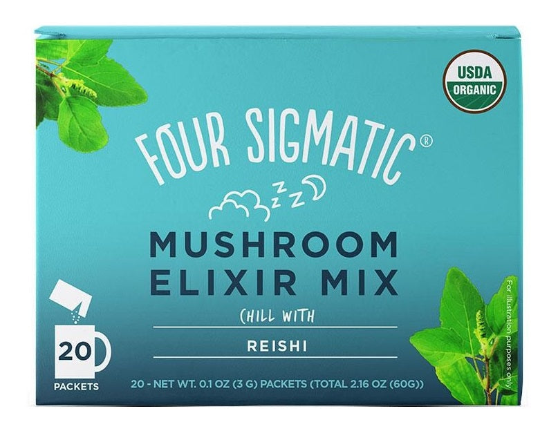 Four Sigmatic Mushroom Elixir Mix met Reishi - Nootropic Mushrooms - Nootropics Shop