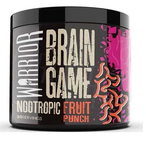 Warroir Brain Game - Powder Nootropics - Fruit Punch Flavor - Nootropics Kopen.