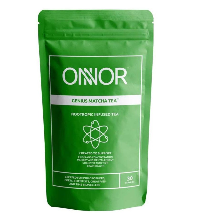 Onnor Genius Matcha Tea with Lion's Mane - Nootropics - Nootropics Kopen.