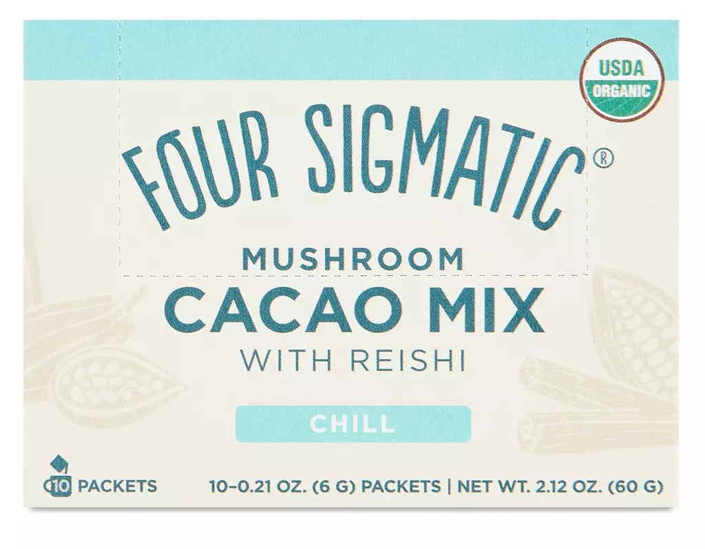 Four Sigmatic  Mushroom Hot Cacao Mix met Reishi - Nootropics - Nootropics Kopen.