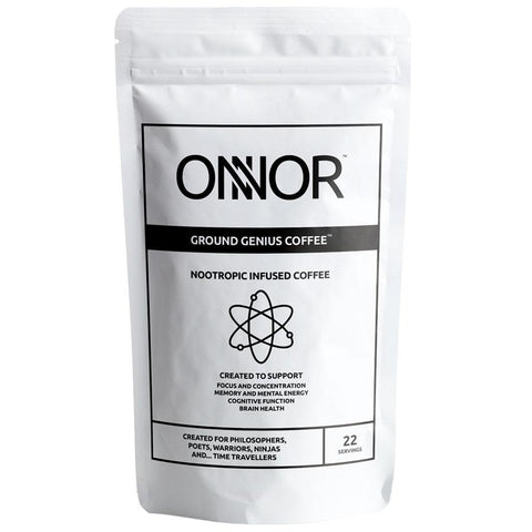 Onnor Ground Genius Coffee with Lion's Mane - Nootropics - Nootropics Kopen.