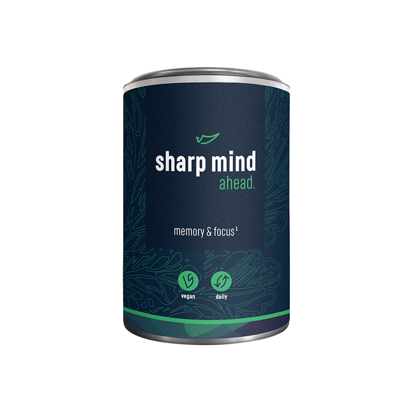 Sharp Mind Nootropics - Concentratie Pillen - Nootropics supplementen voor Concentratie en Focus