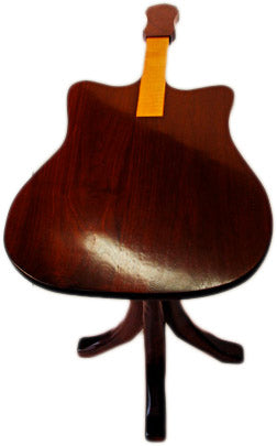 guitar shaped table