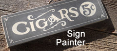 painting signs for home
