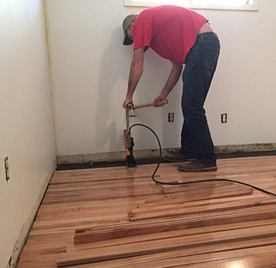 laying floors
