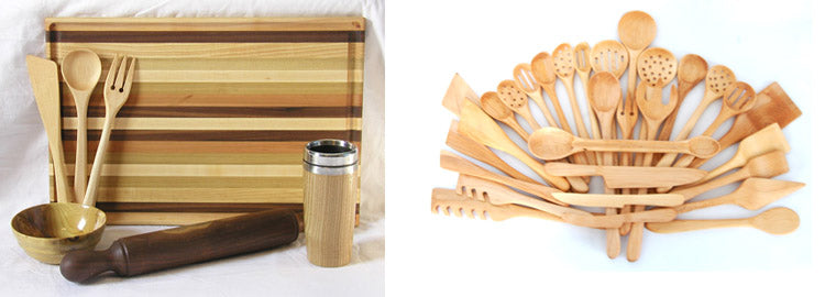 wood kitchenware made in america