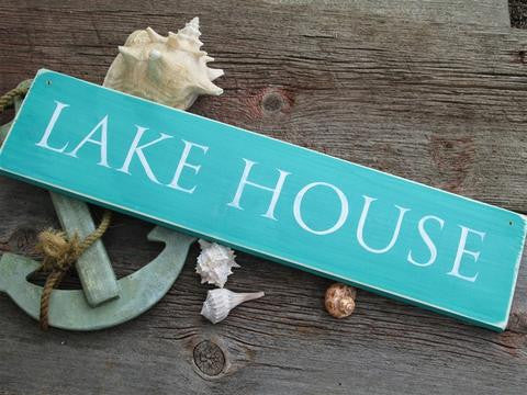 buy lake house sign