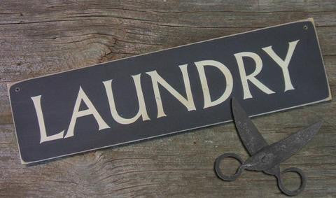 buy laundry sign