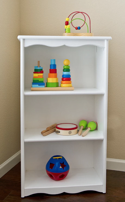 Children's Three Shelf Bookcase