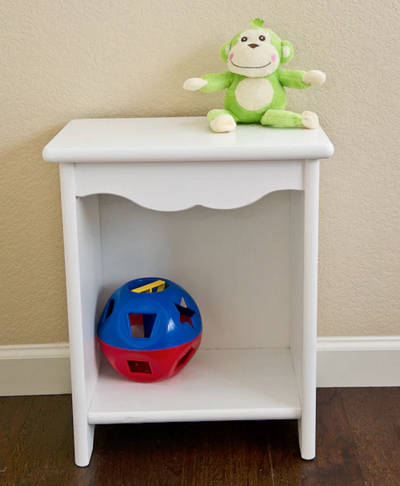 Child's Wood Bedside Stand - Allen Booth