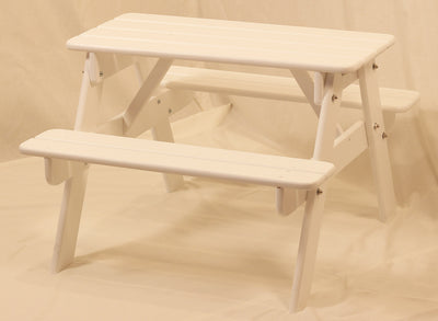 Children's Wooden Picnic Table