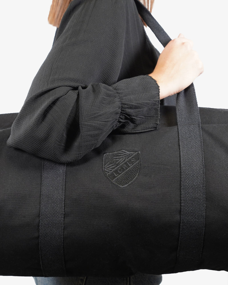 Sac Blason -  Black to Black