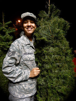 TREE FOR TROOPS