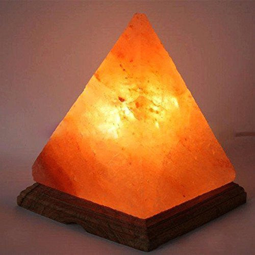 Himalayan Salt Pyramid Lamp
