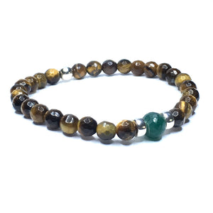 Little GEM Collection 💚 Emerald & Tiger's Eye - SIMPLY SOFIA
