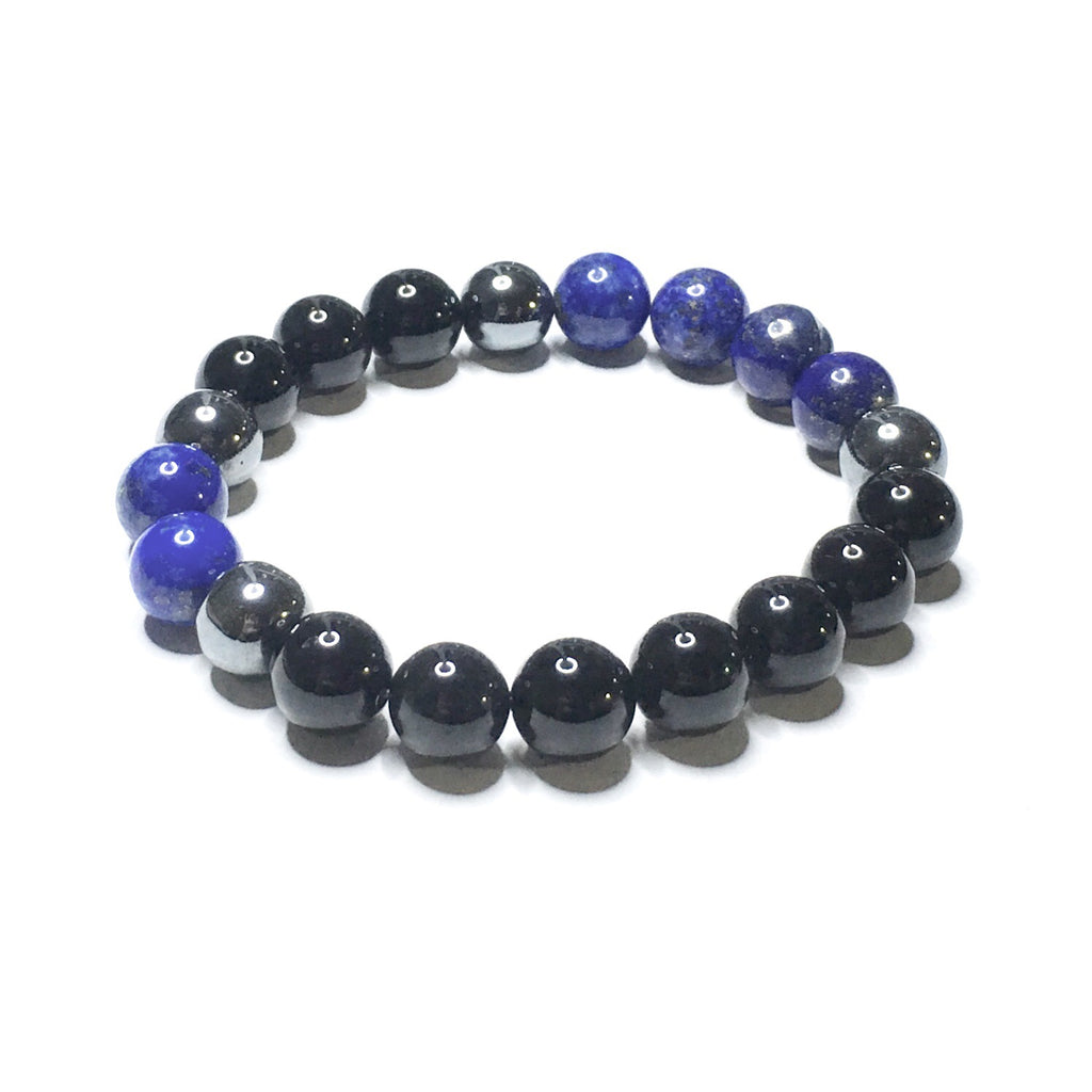 POWER STONES ~ Lapis Lazuli, Onyx + Hematite without Accents - SIMPLY SOFIA