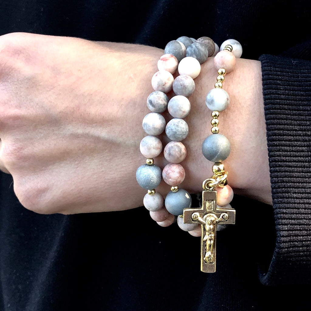 Contemporary Wrist Rosary - SIMPLY SOFIA