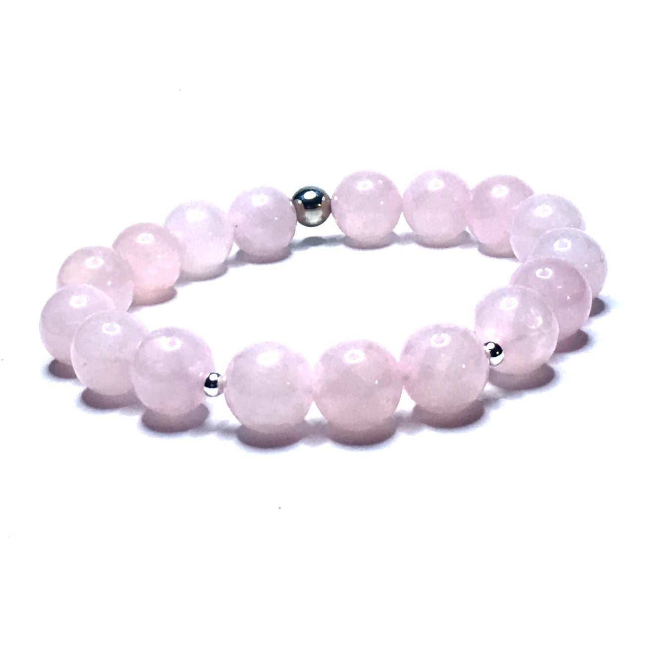 ROSE QUARTZ CRYSTAL BRACELET - SIMPLY SOFIA