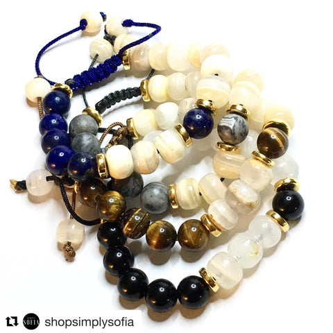 THE BUDDHA EYES BRACED WITH LAPIS LAZULI