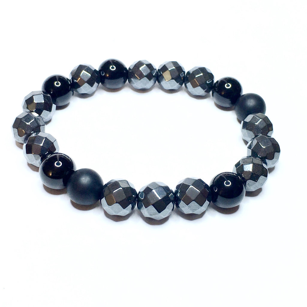 Power Stones, Tourmaline, Hematite, & Black Onyx - SIMPLY SOFIA