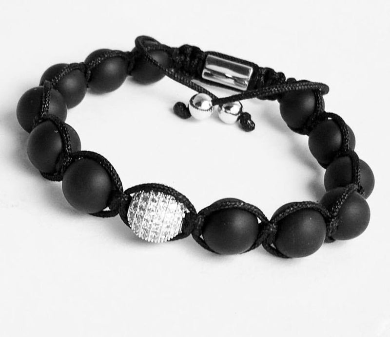 Universal Love and Universal Change Onyx Bracelet - SIMPLY SOFIA