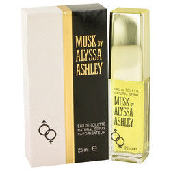 Alyssa Ashley Musk by Houbigant Eau De Toilette Spray .85 oz (Women)