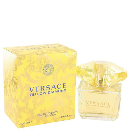 Versace Yellow Diamond by Versace Eau De Toilette Spray 3 oz (Women)