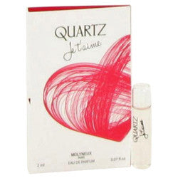 Quartz Je T'aime by Molyneux Vial (sample) .07 oz (Women)