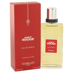 HABIT ROUGE by Guerlain Eau De Parfum Spray 3.3 oz (Men)
