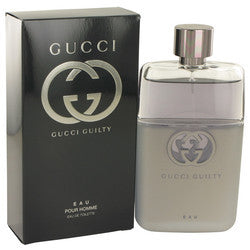 Gucci Guilty Eau by Gucci Eau De Toilette Spray 3 oz (Men)